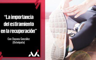 La importancia del estiramiento: charla coloquio de Dayana González