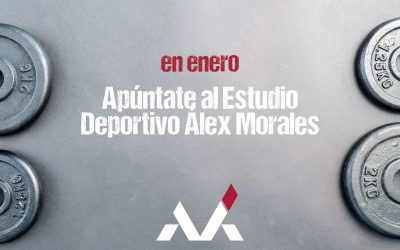 En enero, apúntate al Estudio Deportivo Álex Morales