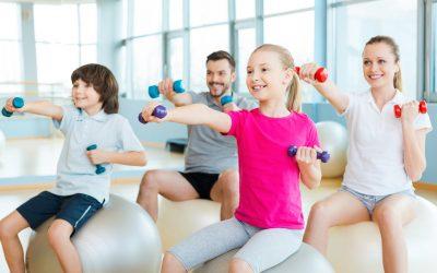 Practica deporte con tu familia en el Estudio Deportivo